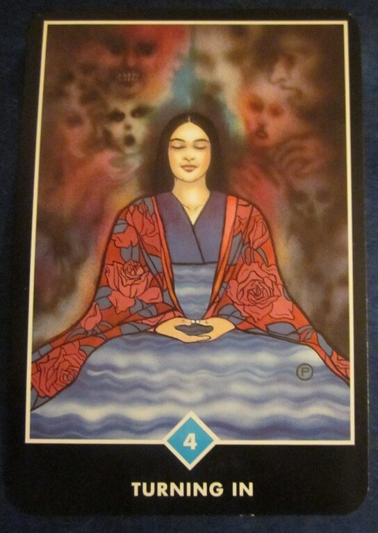 Everyday Tarot, 05/25/11: Emotional Radar for New Solutions / 4 of Cups 1