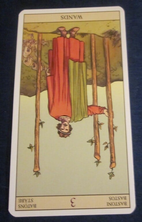 Everyday Tarot, 05/24/11: Want vs. Need /Inverted 3 of Wands 1