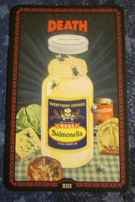 Everyday Tarot, 05/18/11: Making Friends with the Mustard / Death 1