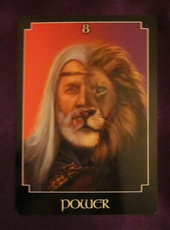 Everyday Tarot, 05/13/11: Power to Conquer...Yourself? Strength 1