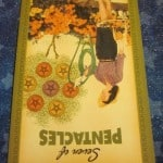 Everyday Tarot, 06/30/11: Two Cookies, Later! Rev. 7 of Pentacles