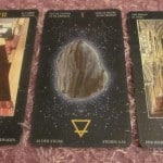 Everyday Tarot, 06/03/11: Safe Trip – Chariot / Ace Pent. / Hierophant