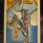 Everyday Tarot, 07/02/11: Slow Down, Nellie! Rev. Knight of Cups