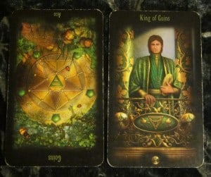 10/07/11: Investing | Rev. Ace of Pentacles, King of Pentacles