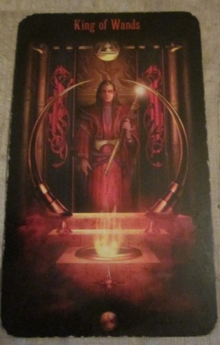 Mini-Reading | Spiritual Quest with King of Wands 1