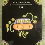 12/31/11: Giving with Strings | Six of Pentacles Rev