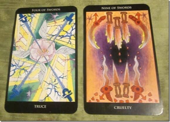 03/13/12: Tentative Truces? | 4 Swords, 9 Swords 1