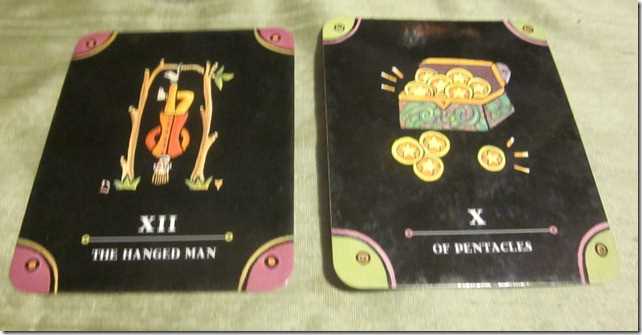 03/04/12: The Gift of Now | Hanged Man, 10 of Pentacles • A