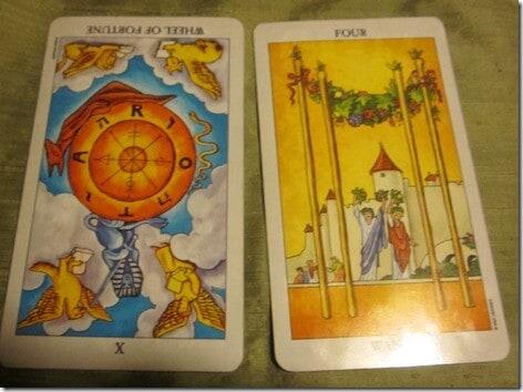 03/11/12: Trial by Fire | Wheel, 4 Wands 1