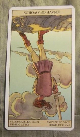 05/28/12: Brain/Mouth Filter ON! | Knave of Swords reversed 1