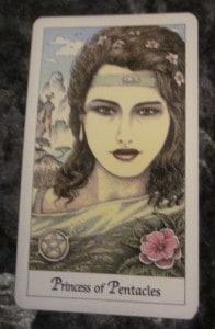 05/15/12: A little attention? | Page of Pentacles