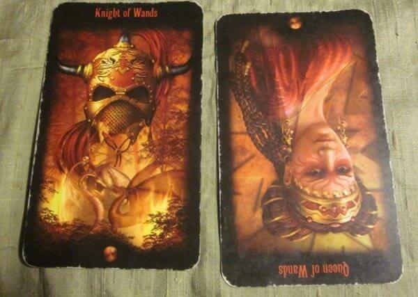 06/18/12: Impulse-Driven | Knight Wands, rev Queen Wands 1