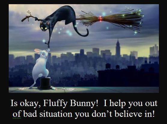 Fluffy Bunny Psychicism (Right Does NOT = Light) 1