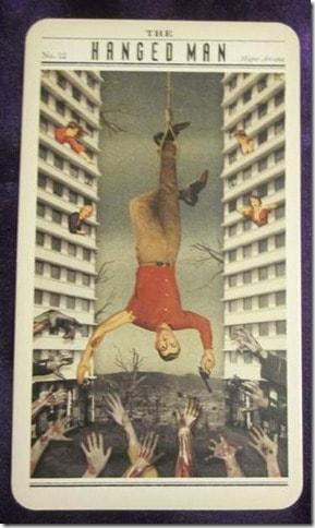 12/29/12: Let go to regain control   Hanged Man 1