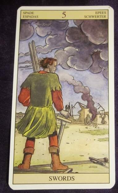 01/05/13: Do Only What You Need to Do | Five of Swords 1