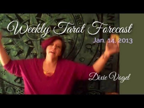 Weekly Tarot Forecast, Jan 14, 2013
