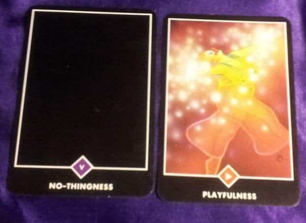 02/19/13: Let Go & Be Glad / Hierophant, Page Wands 1