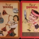 03/16/13: Scrap the Snark / 5 Wands, Page Swords