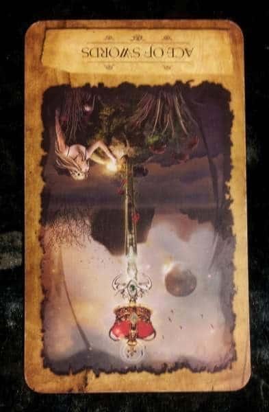 03/09/13:  Uncomfortable Idea / rev Ace of Swords 1