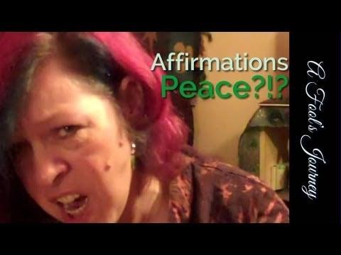 Random Affirmation Video: More Peace, Yo! 1
