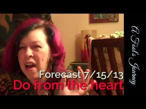 Weekly Forecast 7/15: Don't let perfectionism stop you from acting! 1