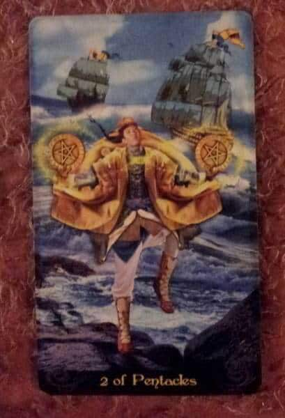 08/28/13: Ups and Downs of Juggling Hard / 2 of Pentacles 1