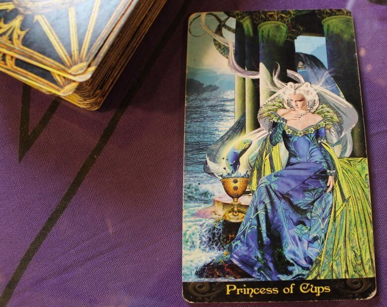 11/21/13: Allure of the Contact Buzz / Princess of Cups 1