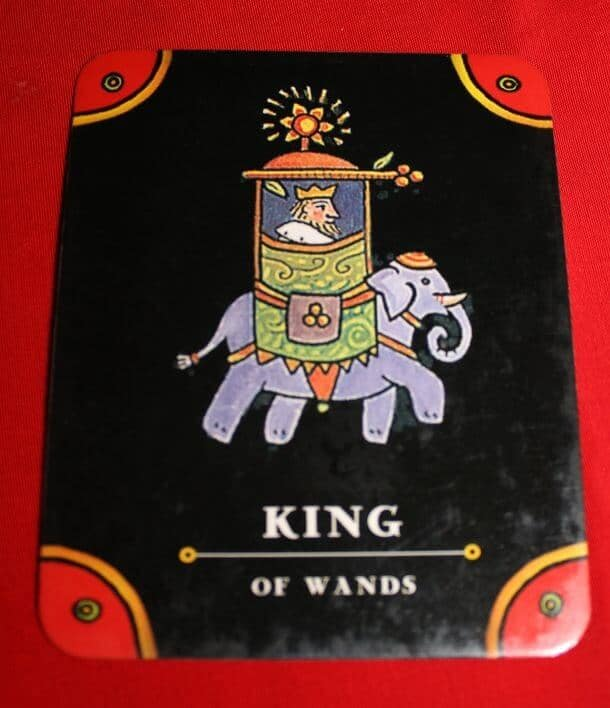 12/12/13: Dress the Part! / King of Wands 1