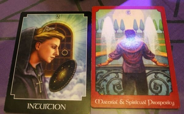 01/15/14: Considered Move / High Priestess, 6 of Pentacles
