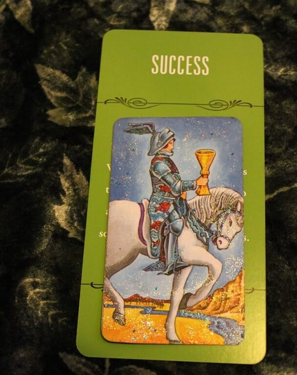 01/17/14: Heart-Centered / Knight of Cups 1