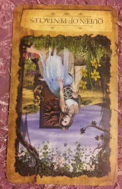 11/30/12: Reign in the Tears | Queen of Cups rev 1