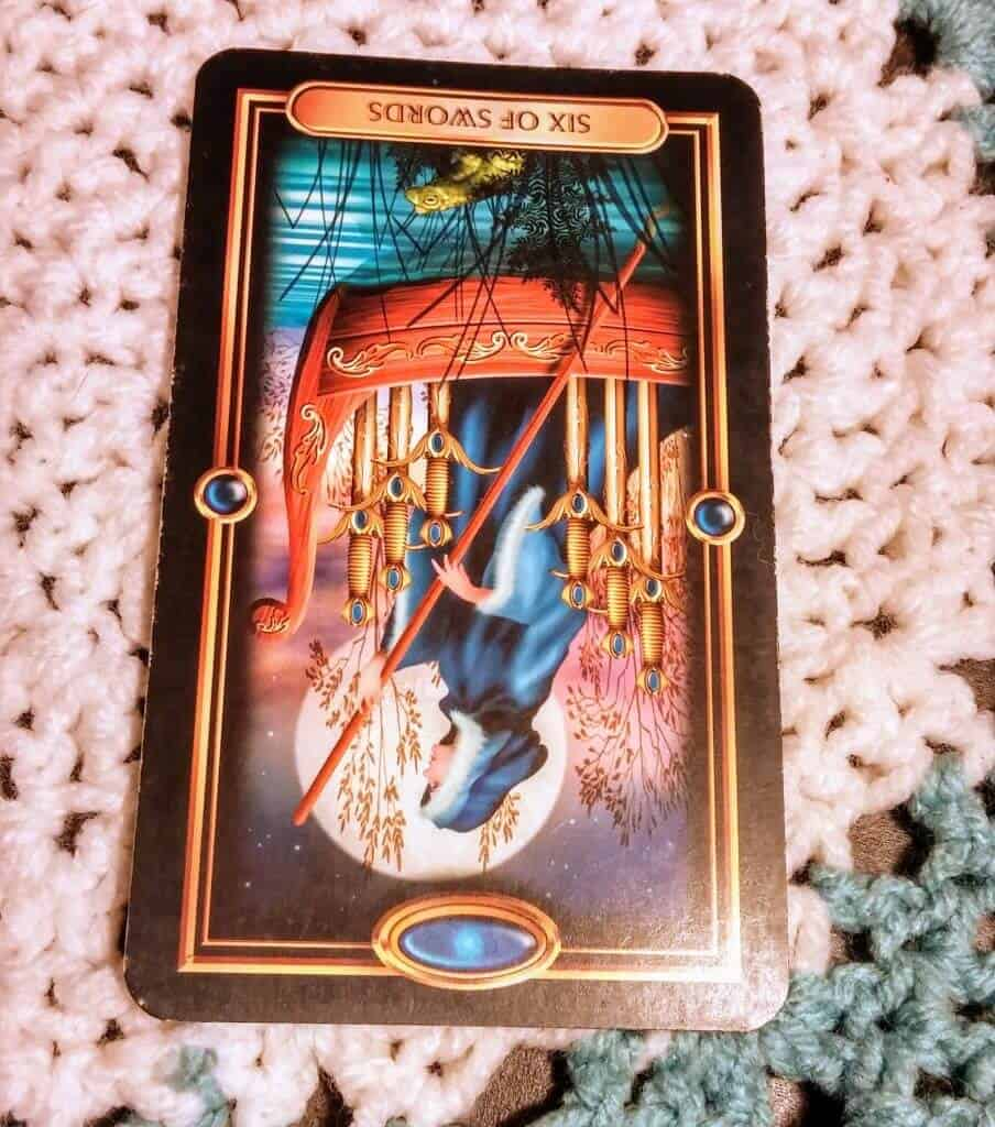 Six of Swords Reversed: Who's to Blame? 1