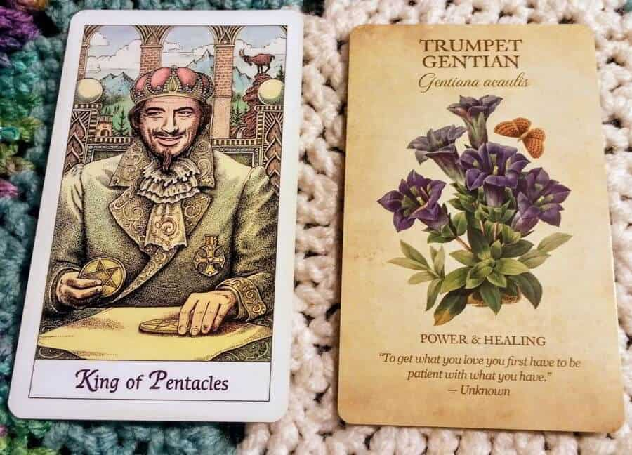 King of Pentacles: Finding Your Flow 1