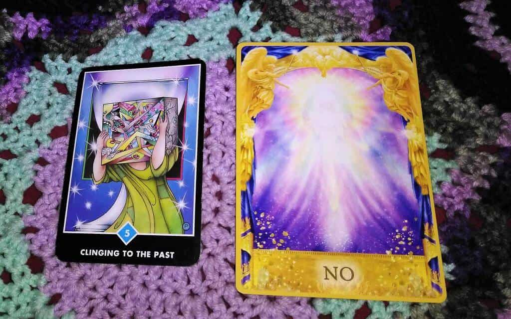 Five of Cups: Now, now, now! 4