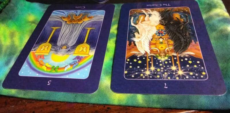 Five of Cups & Chariot (Again)! : Softly Moving Forward 2