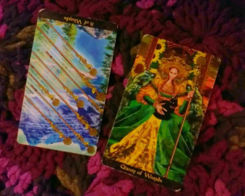 8 of Wands Rx: Just in time? 2