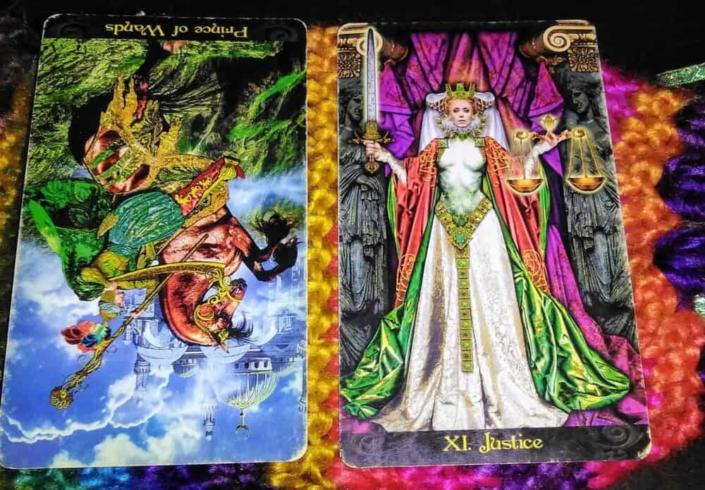 Knight of Wands Rx: Impulse Control & Stability 2