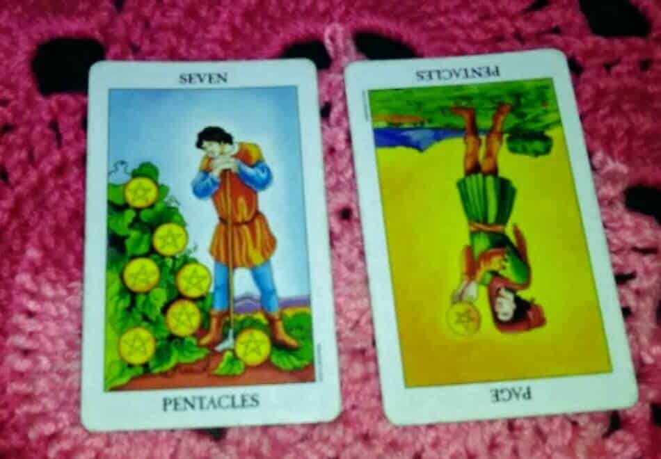Seven of Pentacles: Tending Your Personal Garden 1