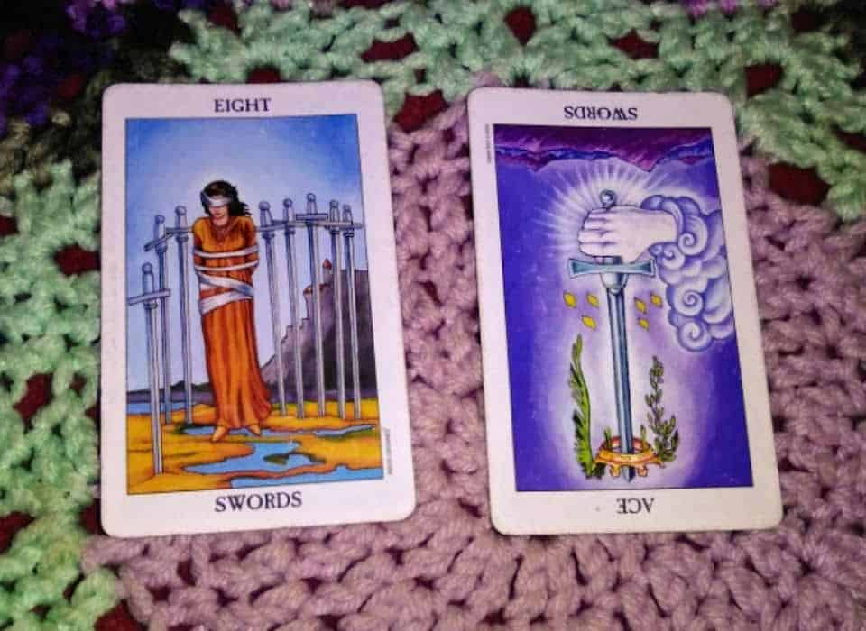 Eight of Swords: Self-Driven Perspective 4