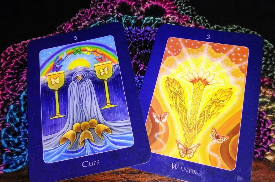 Five of Cups Rx: Making Space for the Next Step 1