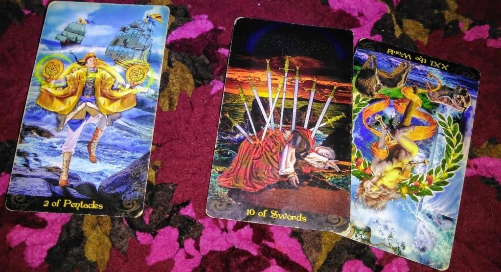 Two of Pentacles & Ten of Swords: Believe in Them 5