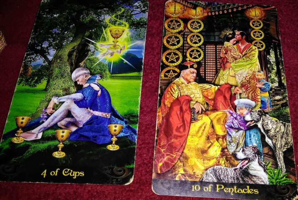 Four of Cups: Finding Unseen Solutions 4