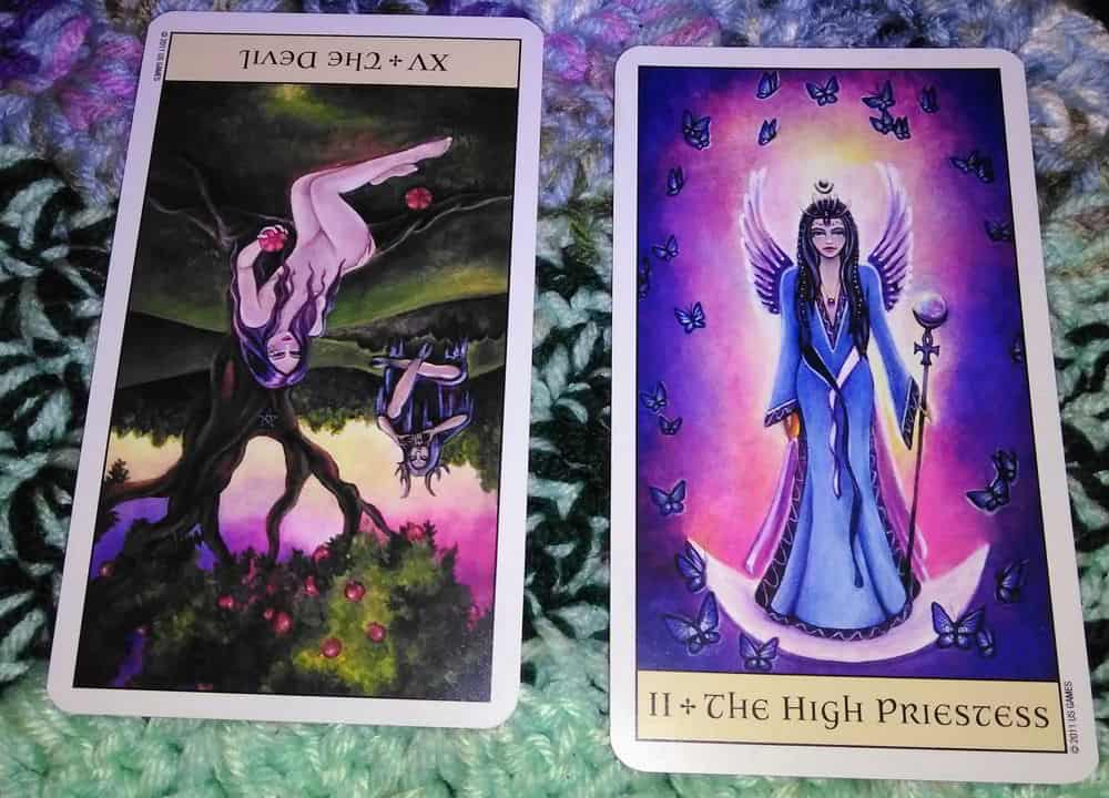 Devil Reversed High Priestess