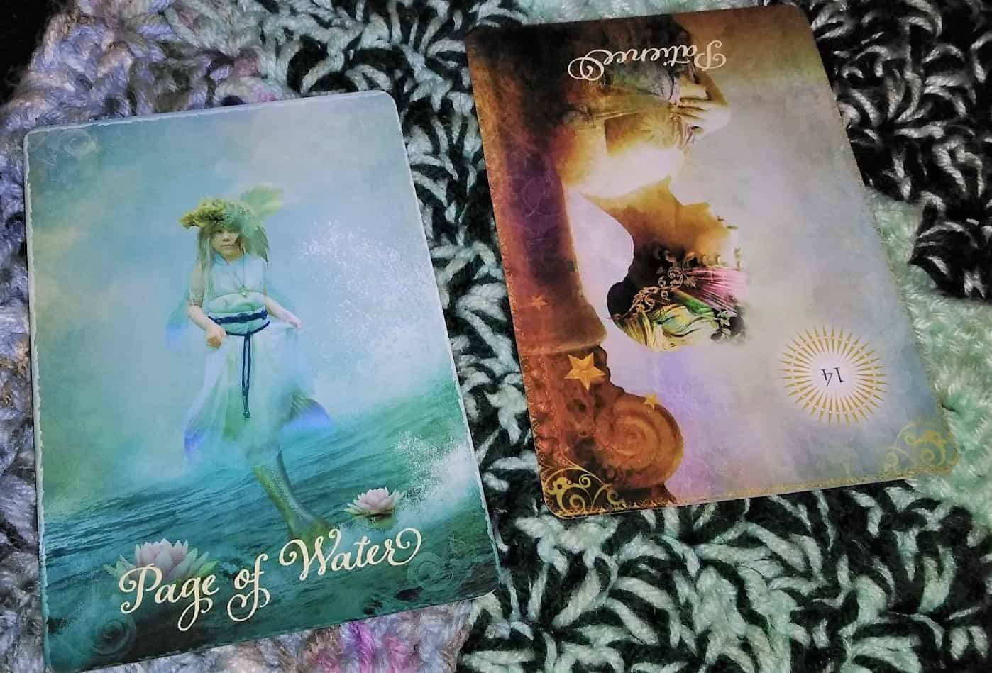 Page of Cups, Patience Rx