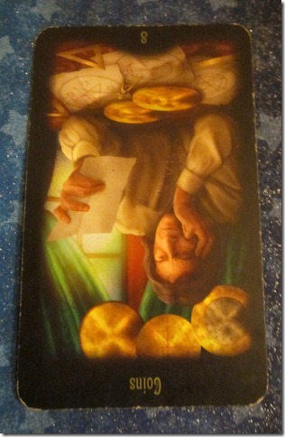 daily-tarot-forecast-eight-coins-reversed