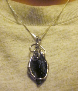 Moldavite Necklace Report