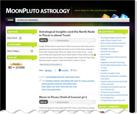 Moon Pluto's Astrology Blog