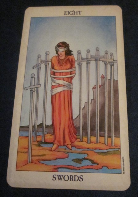 Eight of Swords Tarot