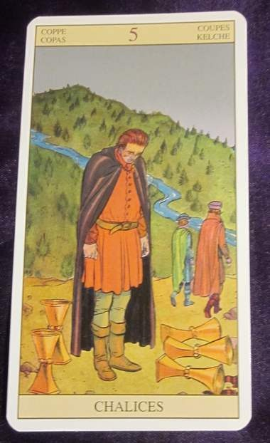 5 Of Cups ⋆ A Fool's Journey