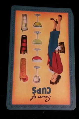 Seven of Cups Reversed Tarot Meaning